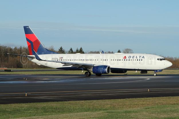 Delta Air Lines Boeing 737-832 WL N392DA (msn 30561) PAE (Nick Dean). Image: 952125.