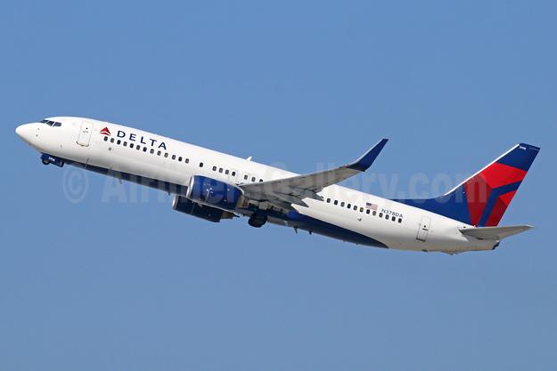Delta Air Lines Boeing 737-832 WL N378DA (msn 30265) LAX (Michael B. Ing). Image: 942640.