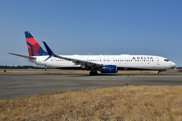 Delta Air Lines Boeing 737-900 ER SSWL N867DN (msn 319769) SEA (Bruce Drum). Image: 104725.