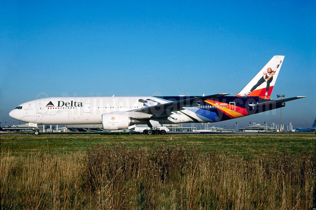 """Soaring Spirit"" - Delta's salute to the Salt Lake City 2002 Winter Olympics"
