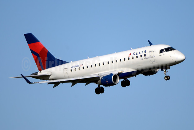 Delta Connection-Republic Airline (2nd) Embraer ERJ 100SE N869RW (msn 17000133) DCA (Jay Selman). Image: 403806.