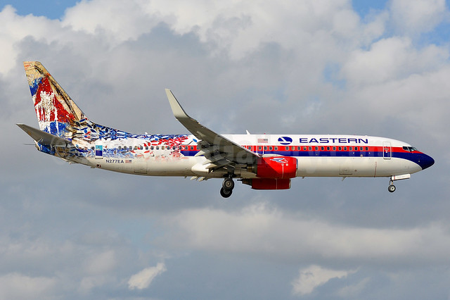 Eastern Air Lines (2nd) - Havana Air (Swifft Air 2nd USA) Boeing 737-8CX WL N277EA (msn 32359) MIA (Tony Storck). Image: 940753.