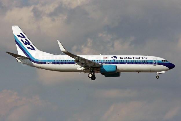 The last revenue flight for Eastern Air Lines (2nd) was operated by N276EA