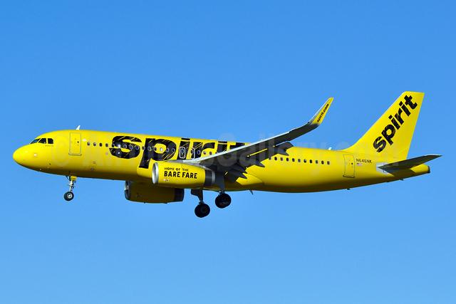 Spirit Airlines Airbus A320-232 WL N646NK (msn 7062) BWI (Tony Storck). Image: 933496.