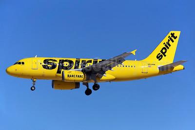 Spirit Airlines Airbus A319-132 N534NK (msn 3395) LAS (Greenwing). Image: 929141.
