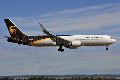 UPS Airlines (UPS-Worldwide Services) Boeing 767-34AF ER WL N338UP (msn 37944) ANC (Ken Petersen). Image: 928765.