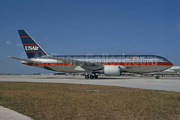 The Merger Also Brings Usair S First Wide Body Jets The Boeing 767 200 Ers Now Used On Its Transatlantic And Some Transcontinental Routes