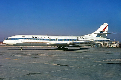 United Airlines Sud Aviation SE.210 Caravelle 6R N1019U (msn 104) (Christian Volpati Collection). Image: 932734.