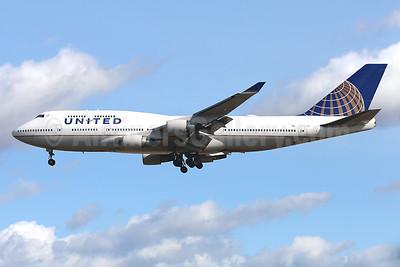 United Airlines Boeing 747-422 N120UA (msn 29166) FRA (Javier Rodriguez). Image: 928632.