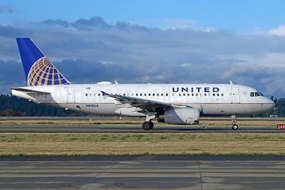 United Airlines Airbus A319-131 N818UA (msn 882) SEA (Michael B. Ing). Image: 927544.