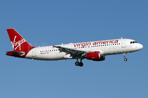 Virgin America Airbus A320-214 N855VA (msn 5179) DCA (Brian McDonough). Image: 930492.
