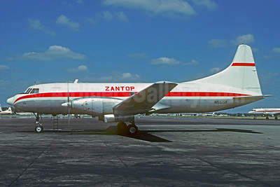Zantop International Airlines Convair 640 (F) N5515K (msn 133) YP (Christian Volpati Collection). Image: 932692.