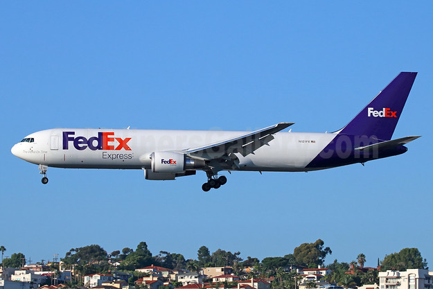 FedEx Express Boeing 767-3S2F ER N121FE (msn 43545) SAN (Michael B. Ing). Image: 932269.