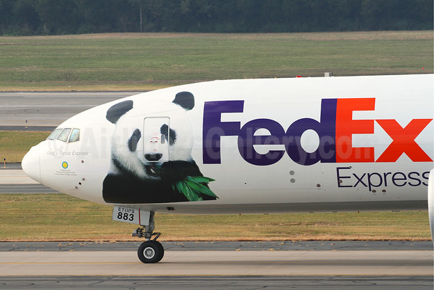 """FedEx Panda Express"" (3rd) takes Bei Bei back to China"