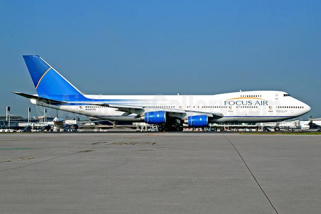 Focus Air Cargo Boeing 747-236B (F) N361FC (msn 22442) CDG (Christian Volpati). Image: 944630.