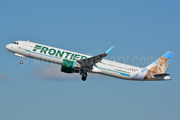 Frontier Airlines (2nd) Airbus A321-211 WL N706FR (msn 6926) PHL (Jay Selman). Image: 402853.