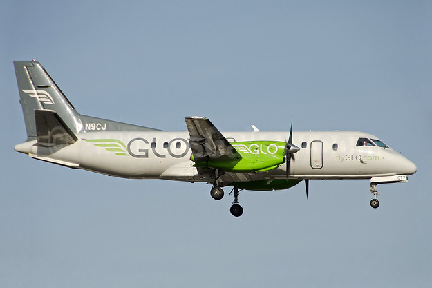 GLO Airlines (flyGLO.com) (Corporate Flight Management) SAAB 340B N9CJ (msn 224) LIT (Jason Hamm). Image: 938894.