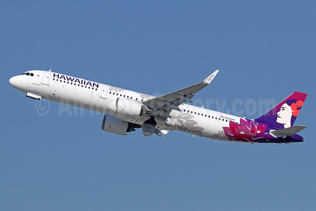 Hawaiian Airlines Airbus A321-271N WL N202HA (msn 7917) LAX (Michael B. Ing). Image: 940198.