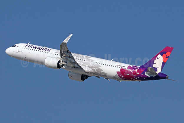 Hawaiian's first Airbus A321neo