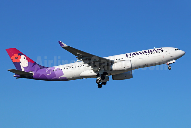 Hawaiian Airlines Airbus A330-243 N391HA (msn 1309) SEA (Michael B. Ing). Image: 929070.