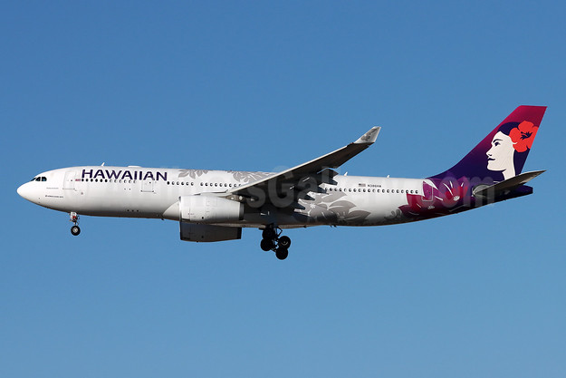 Hawaiian Airlines Airbus A330-243 N386HA (msn 1302) LAX (Michael B. Ing). Image: 952315.