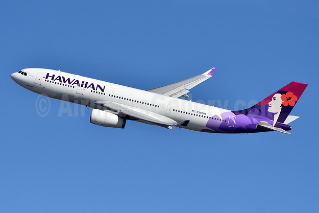 Hawaiian Airlines Airbus A330-243 N390HA (msn 1389) JFK (Fred Freketic). Image: 944577.