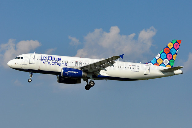 jetBlue Vacations special livery