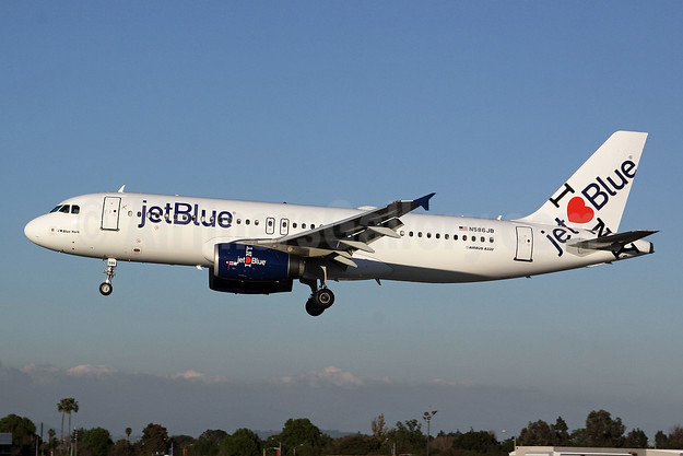 JetBlue Airways Airbus A320-232 N586JB (msn 2160) (I Love NY) LGB (Michael B. Ing). Image: 907042.