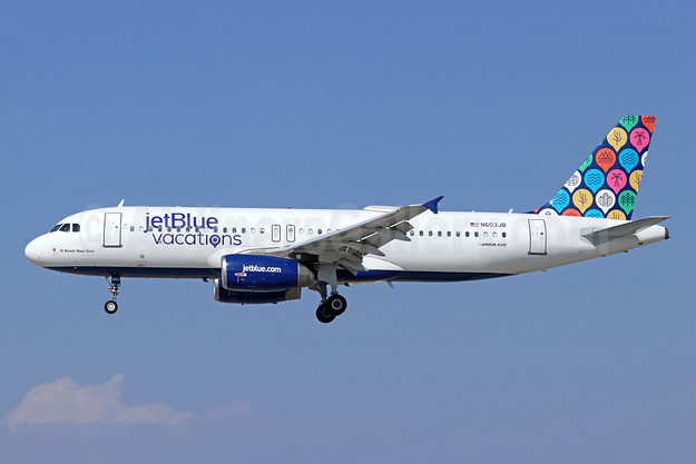 JetBlue Airways Airbus A320-232 N603JB (msn 2352) (jetBlue vacations) LGB (Michael B. Ing). Image: 943393.