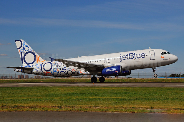 JetBlue's special 10th Anniversary livery