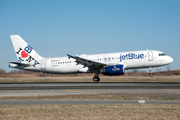 JetBlue Airways Airbus A320-232 N586JB (msn 2160) (I Love NY) JFK (Fred Freketic). Image: 949900.