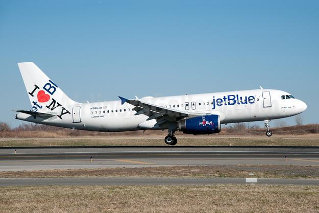JetBlue Airways Airbus A320-232 N586JB (msn 2160) (I Love NY) JFK (Fred Freketic). Image: 949900.