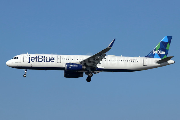 JetBlue Airways Airbus A321-231 WL N969JT (msn 7353) (Prism) LAX (Michael B. Ing). Image: 945820.