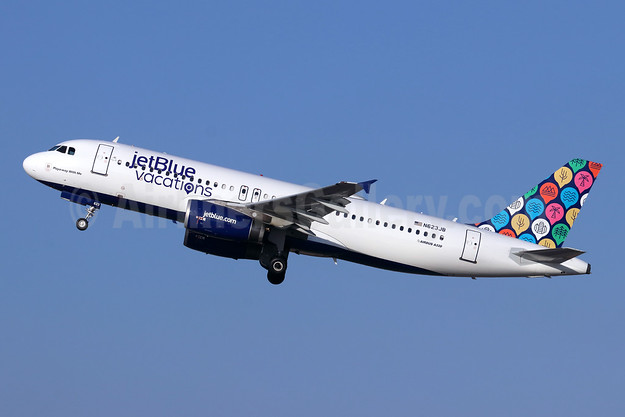"""Playa-way With Me"", now in jetBlue vacations livery"