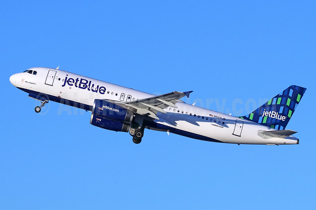 JetBlue Airways Airbus A320-232 N568JB (msn 2063) (Highrise) LGB (Michael B. Ing). Image: 939484.