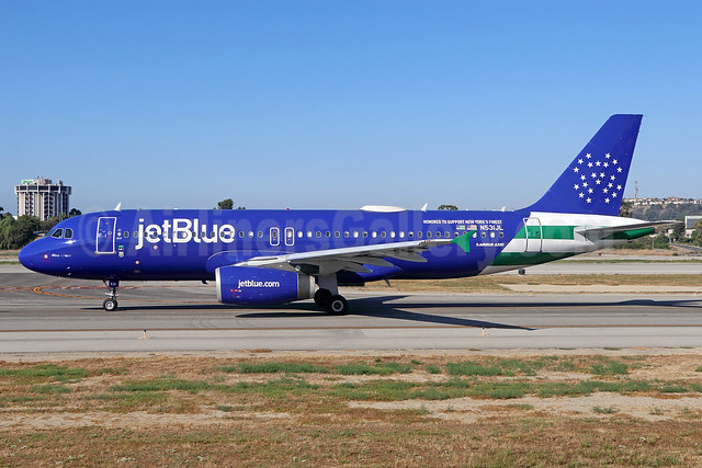 "JetBlue's 2017 ""Blue Finest"" salute to the NYPD"