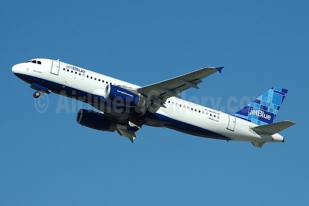 JetBlue Airways Airbus A320-232 N605JB (msn 2368) (Mosaic) FLL (Bruce Drum). Image: 100791.
