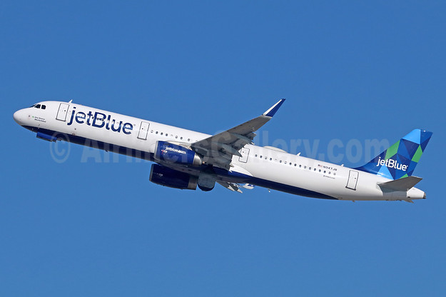 JetBlue Airways Airbus A321-231 WL N947JB (msn 6448) (Prism) LAX (Michael B. Ing). Image: 936368.