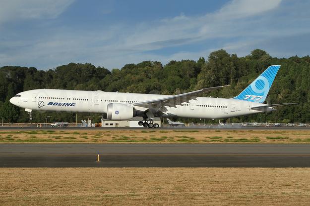 Boeing 777-9 (777X) N779XY (msn 65799) BFI (Nick Dean). Image: 954674.