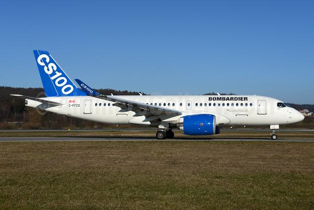 Bombardier CSeries CS100 (BD-500-1A10) C-FFCO (msn 50006) ZRH (Rolf Wallner). Image: 932101.