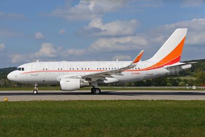 SK Telecom Airbus A319-115 WL (ACJ) HL8080 (msn 5768) ZRH (Rolf Wallner). Image: 929620.