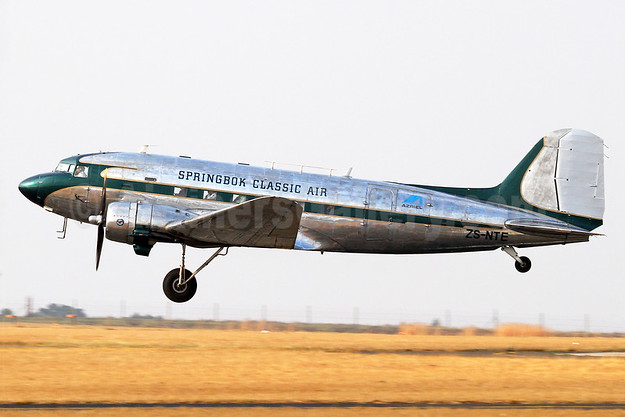 Springbok Classic Air Douglas C-47A-DK (DC-3) ZS-NTE (msn 11926) QRA (Keith Burton). Image: 938726.