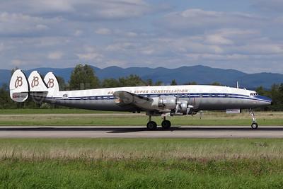 Breitling Super Constellation (Constellation Historical Society) Lockheed C-121C-LO (1049F) Super Constellation HB-RSC (msn 4175) BSL (Paul Bannwarth). Image: 924112.