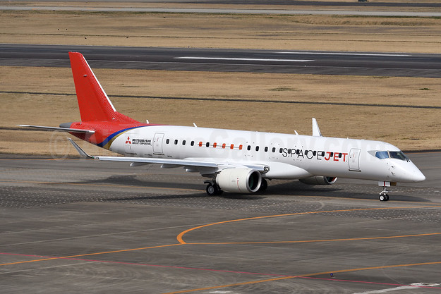 Mitsubishi Aircraft Corporation SpaceJet M90 JA26MJ (msn 10010) NKM (Akira Uekawa). Image: 949493.