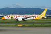 "Scoot's ""Happy 50th Birthday Singapore"" Boeing 787-9 logo jet"