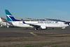 WestJet Boeing 737-800 with new Maple Leaf logo