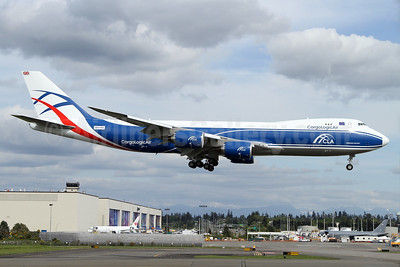 CargoLogicAir's first Boeing 747-800F, ex-Seattle Seahawks
