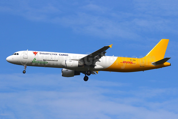 New A321 freighter operating for DHL