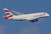 British Airways Airbus A380-841 G-XLEF (msn 151) LHR (SPA). Image: 924425.