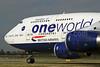 British Airways Boeing 747-436 G-CIVL (msn 27478) (Oneworld) LHR. Image; 924693.
